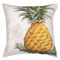 Golden Pineapple HD Indoor/Outdoor Pillow