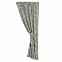 Gramercy Floral Curtain with Tieback