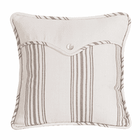 Gramercy Linen Weave Striped Envelope Pillow