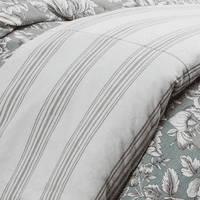 Gramercy Striped Duvet - Super Queen