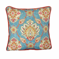 Granada & Sensu Coral Welt Accent Pillow