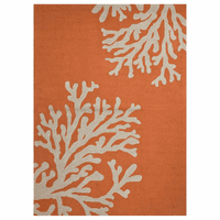 Grant Bough Out Orange Rug Collection