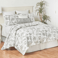 Gray Bay Quilt Set - King - OUT OF STOCK