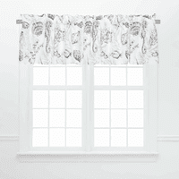 Gray Bay Valances - Set of 2