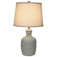 Gray Shells Accent Lamp