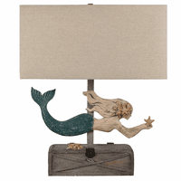 Grayson Mermaid Table Lamp
