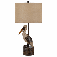 Grayson Pelican Table Lamp