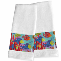 Great Reef Hand Towels - Set of 2