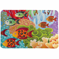 Great Reef Memory Foam Rug