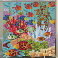 Great Reef Shower Curtain