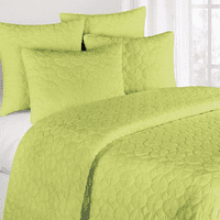 Green Mara Quilt Bedding Collection - OVERSTOCK