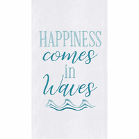 Happiness Flour Sack Towels - Set of 6