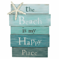 Happy Place Beach Wall Art