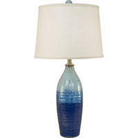 Harbor Breeze Blue Table Lamp