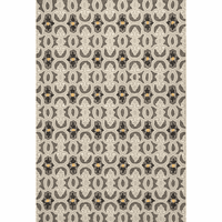 Harbor Charcoal Scrollwork Indoor/Outdoor Rug Collection