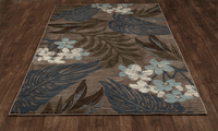 Harbor Hibiscus Rug Collection