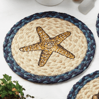 Harbor Jute Starfish Trivet
