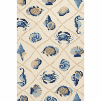 Harbor Sand Seaside Indoor/Outdoor Rug Collection