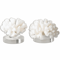 Hard Coral Sculptures - Set of 2