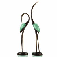 Harmonious Crane Statues - Set of 2