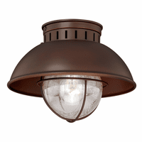 Harwich Bronze Outdoor Ceiling Light