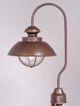 Harwich Bronze Outdoor Post Light
