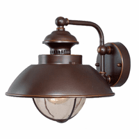 Harwich Bronze Outdoor Wall Sconce - 10 Inch