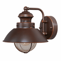 Harwich Bronze Outdoor Wall Sconce - 8 Inch