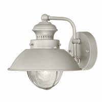 Harwich Nickel Outdoor Wall Sconce - 8 Inch