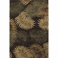 Havana Espresso Fern View Rug Collection