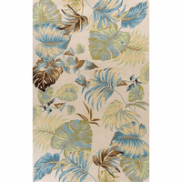 Havana Ivory and Blue Oasis Rug Collection