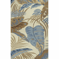 Havana Ivory and Blue Rainforest Rug Collection