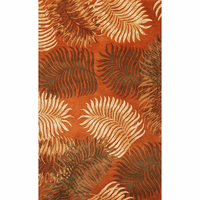 Havana Rust Fern View Rug Collection