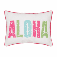 Hawaiian Hello Pillow
