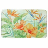 Hawaiian Hibiscus Memory Foam Mat Collection