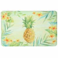 Hawaiian Hibiscus Pineapple Memory Foam Mat Collection