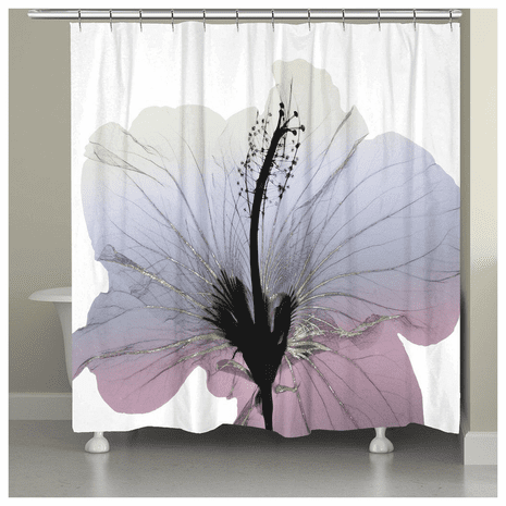 Hawaiian Hibiscus Shower Curtain