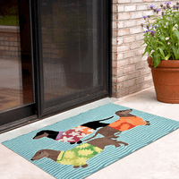 Hawaiian Hounds Indoor/Outdoor Rug Collection