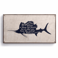 Hawthorne Sailfish Canvas Wall Art