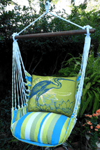 Heron Beach Boulevard Stripe Swing Set