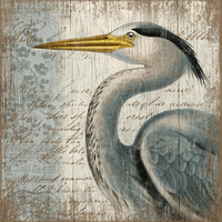 Heron Beauty Wall Art