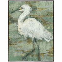 Heron Impression I Canvas Art