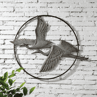 Herons Iron Wall Art