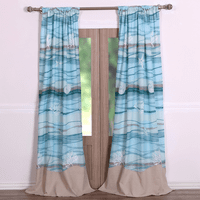 Honolua Bay Drapes - OVERSTOCK