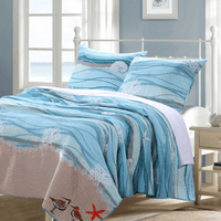 Honolua Bay Quilt Set - Full/Queen