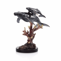 Humpback Whales Statue