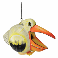Hungry Pelican Birdhouse