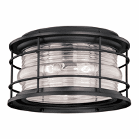 Hyannis Black Outdoor Ceiling Light