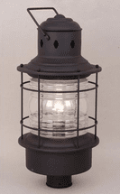 Hyannis Black Outdoor Post Light