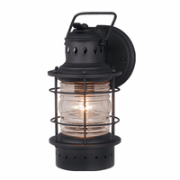 Hyannis Black Outdoor Wall Sconce - 5 Inch